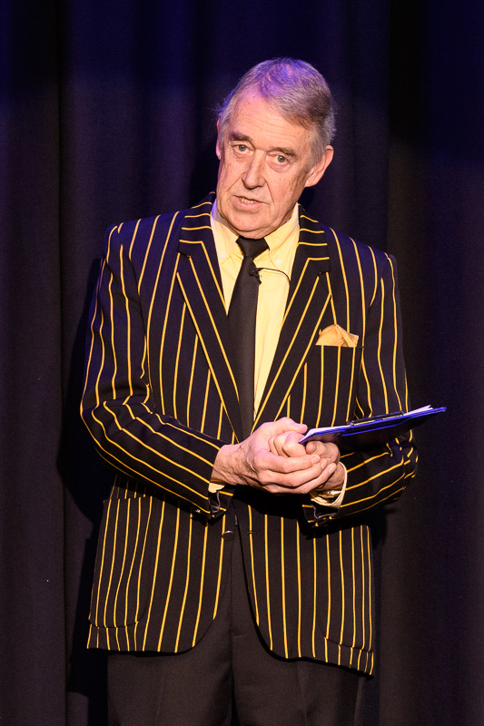 Holsworthy's 16th Charity Extravaganza - Ian Chouffot, our suave compere
