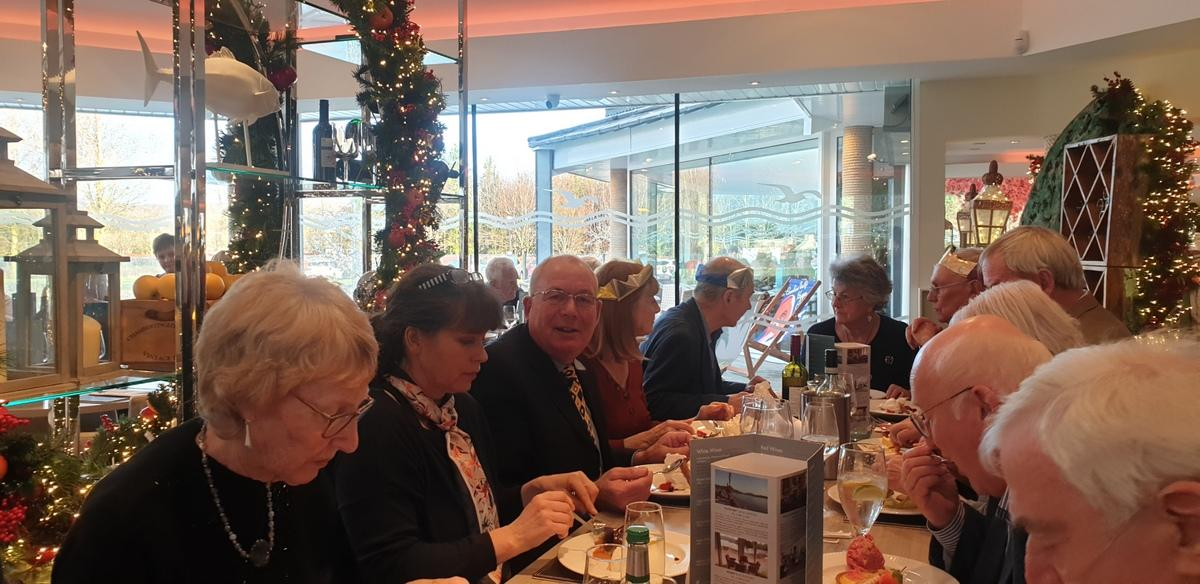 Sunday 15 December 2019 @ 12.30 for 13.00 Xmas Lunch -