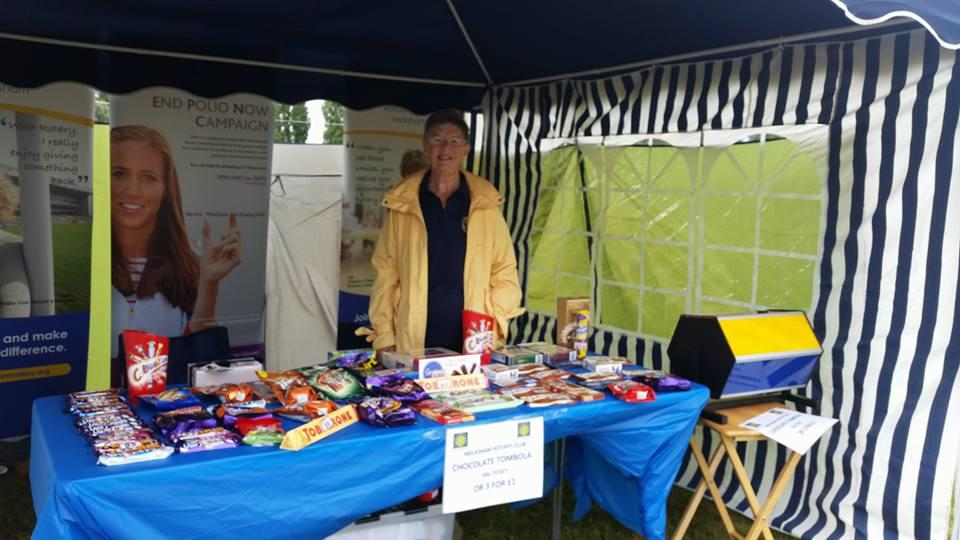 Melksham River Festival - Our tombola will be like this from the Carnival fun day