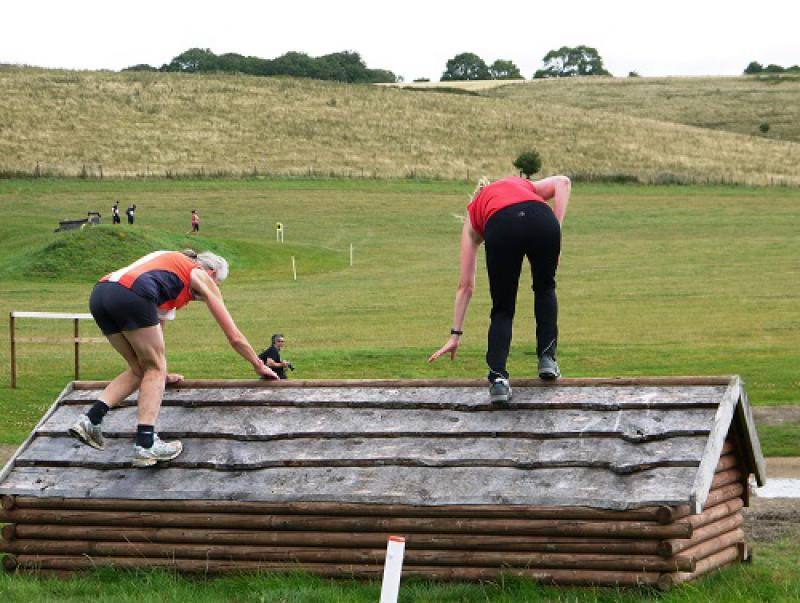 Horseless Steeplechase: 4 August 2013 - 20 Over the shed