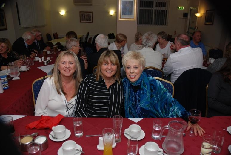 BURNS NIGHT - 2016 - Robbie Burns would have had his eye on these three bonny lasses.