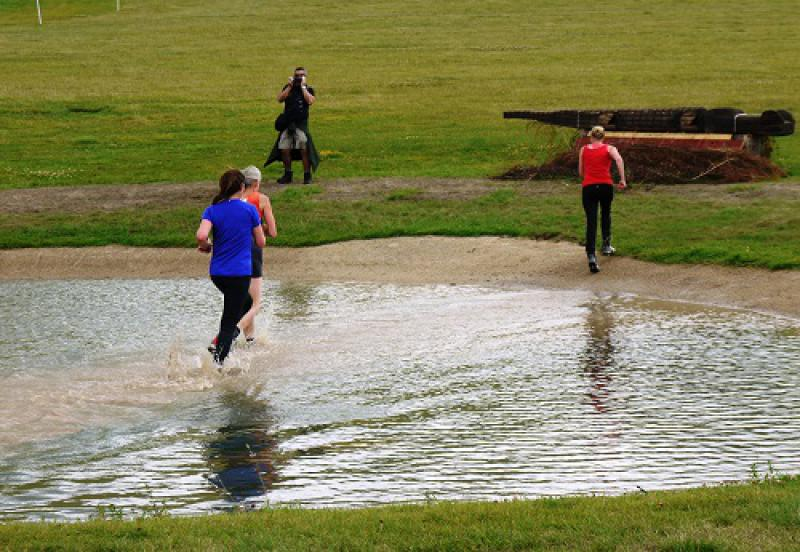 Horseless Steeplechase: 4 August 2013 - 21 water jump
