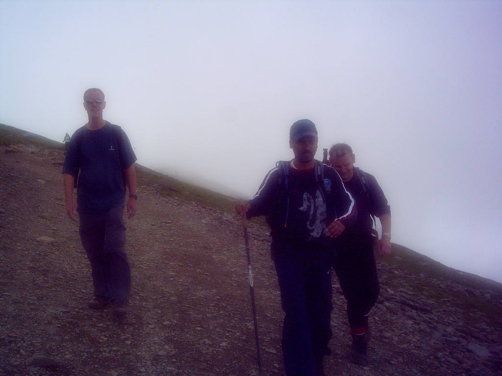 Rotary Mountain Challenge June '06 - On the way back from Snowdon