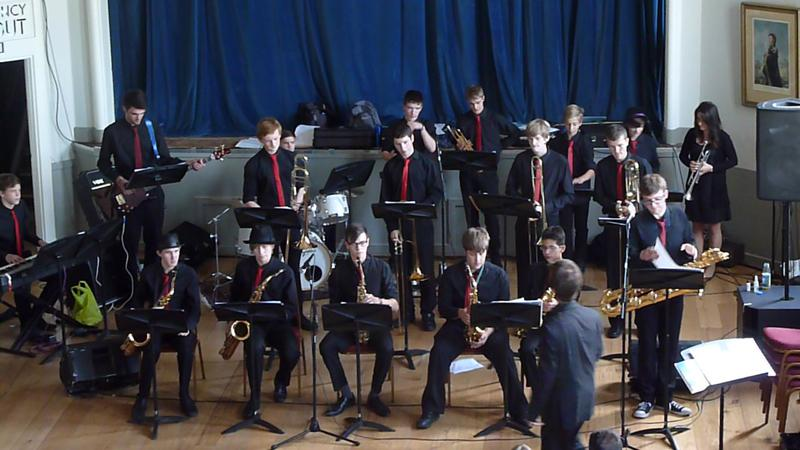 CHIPPY JAZZ AND MUSIC 2013 - started with the Reading Big Band