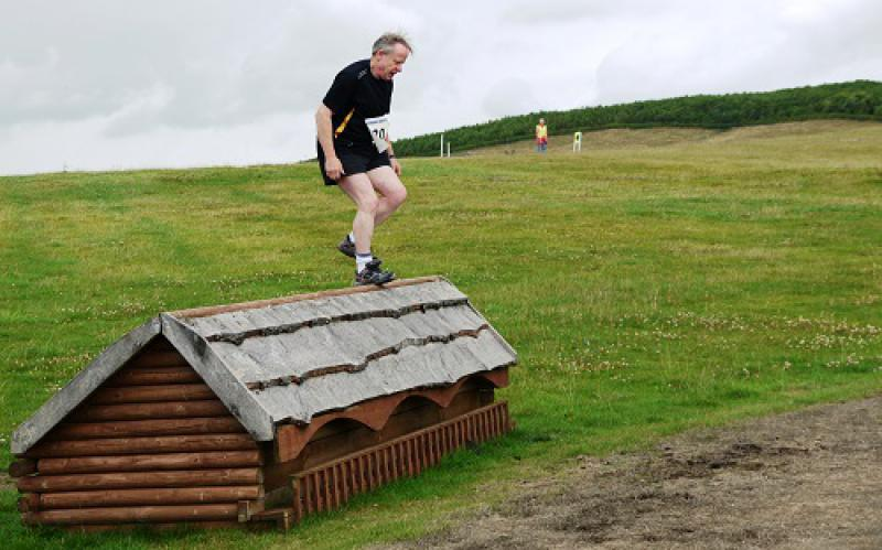Horseless Steeplechase: 4 August 2013 - 22 over the shed - easy