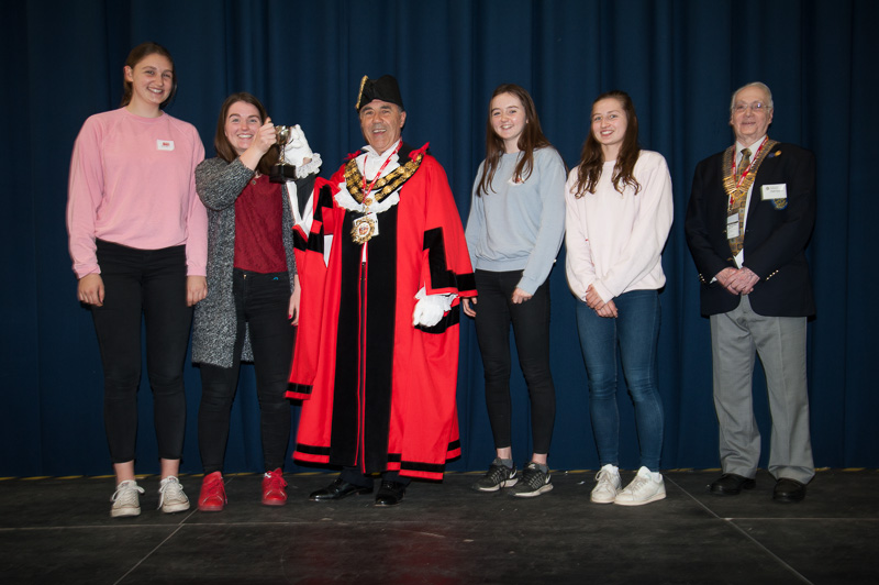 Technology Tournament led by Twickenham Rotary Club  - Mayor and Lady Eleanor Holles school