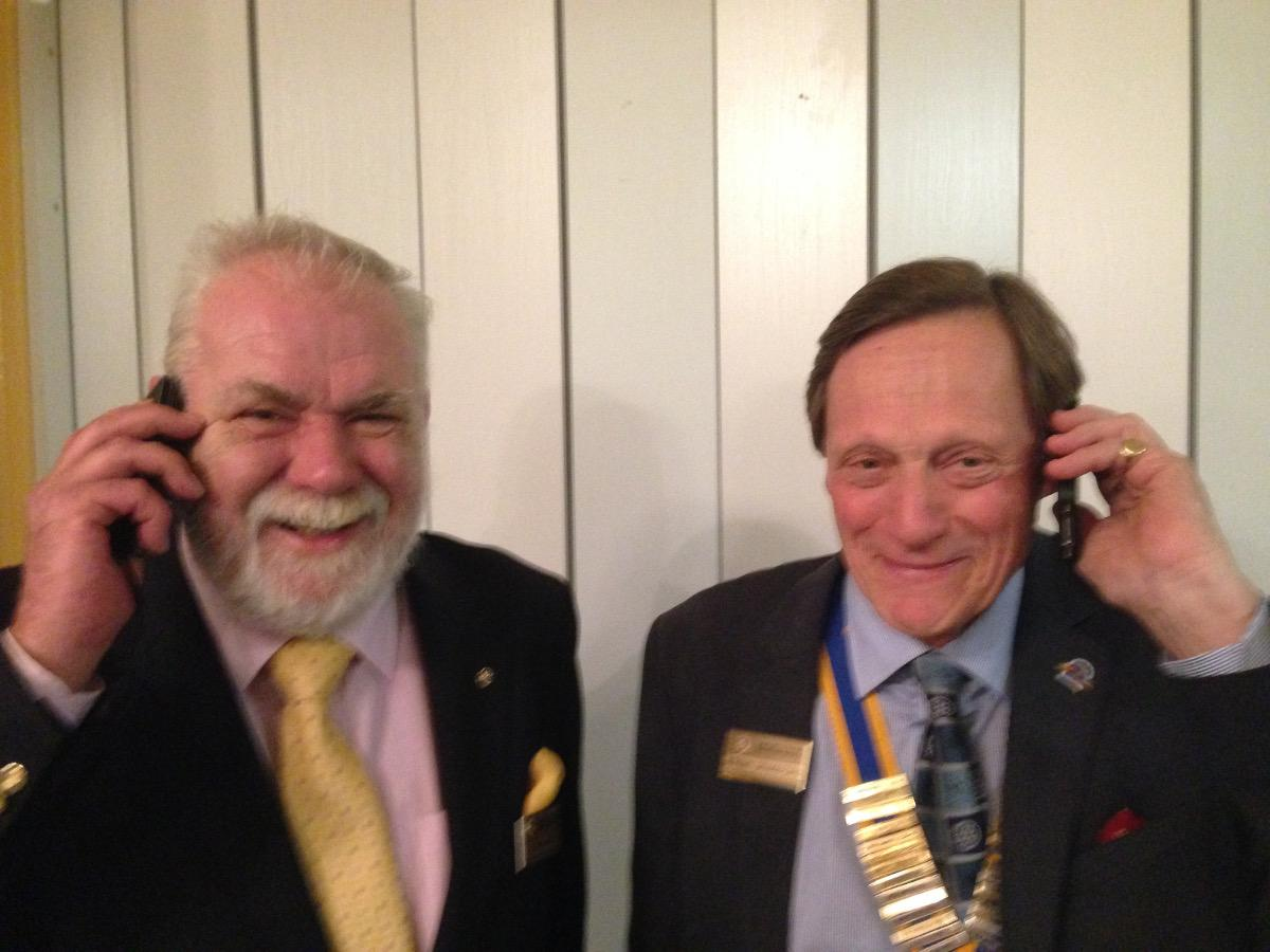 2015-16 Rotary Year - Much of his commercial life has been linked to telecommunications!