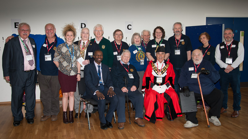 Technology Tournament led by Twickenham Rotary Club  - Mayor and Rotary