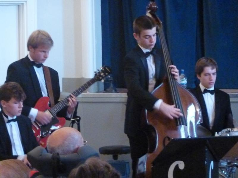 CHIPPY JAZZ AND MUSIC 2012 - and the overall performance showed how good this band is.