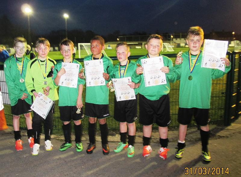Rotary Schools Football Competition: Up to and including Year 6. - Beaten finalists