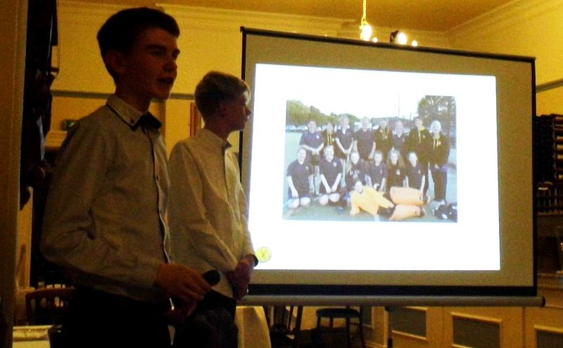 Club Visit by Buxton Hockey Club -