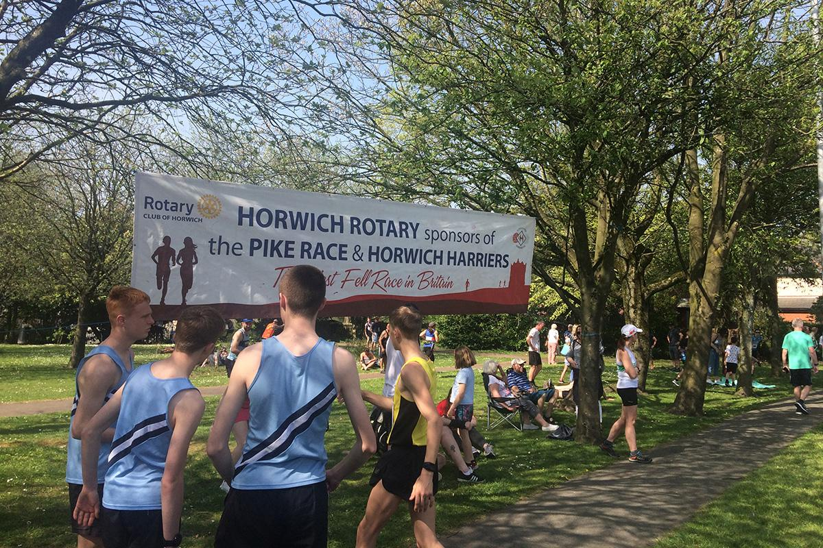 The Annual Rivington Pike Race, Horwich Saturday 20th April 2019. -