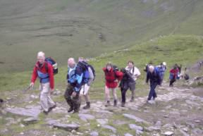 2003 Charity Walk Yorkshire 3 Peaks - Ascending Whernside