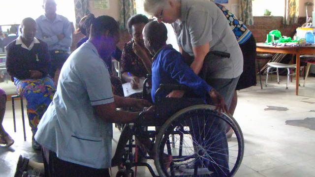 Wheelchairs for Uganda, South Africa & Lesotho - 3