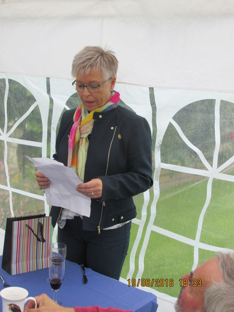 Visit from Odal Rotary Club, Norway - 30 And poems