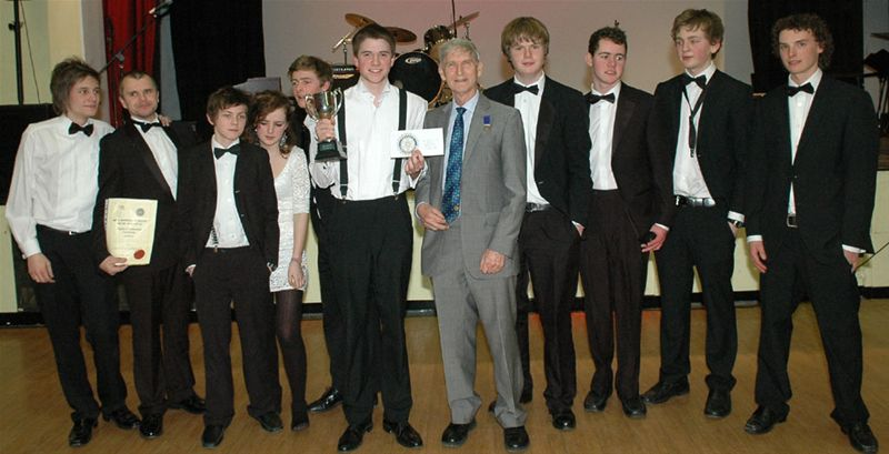 Rotary Youth Jazz Band Challenge 2010 - The Winning Team!