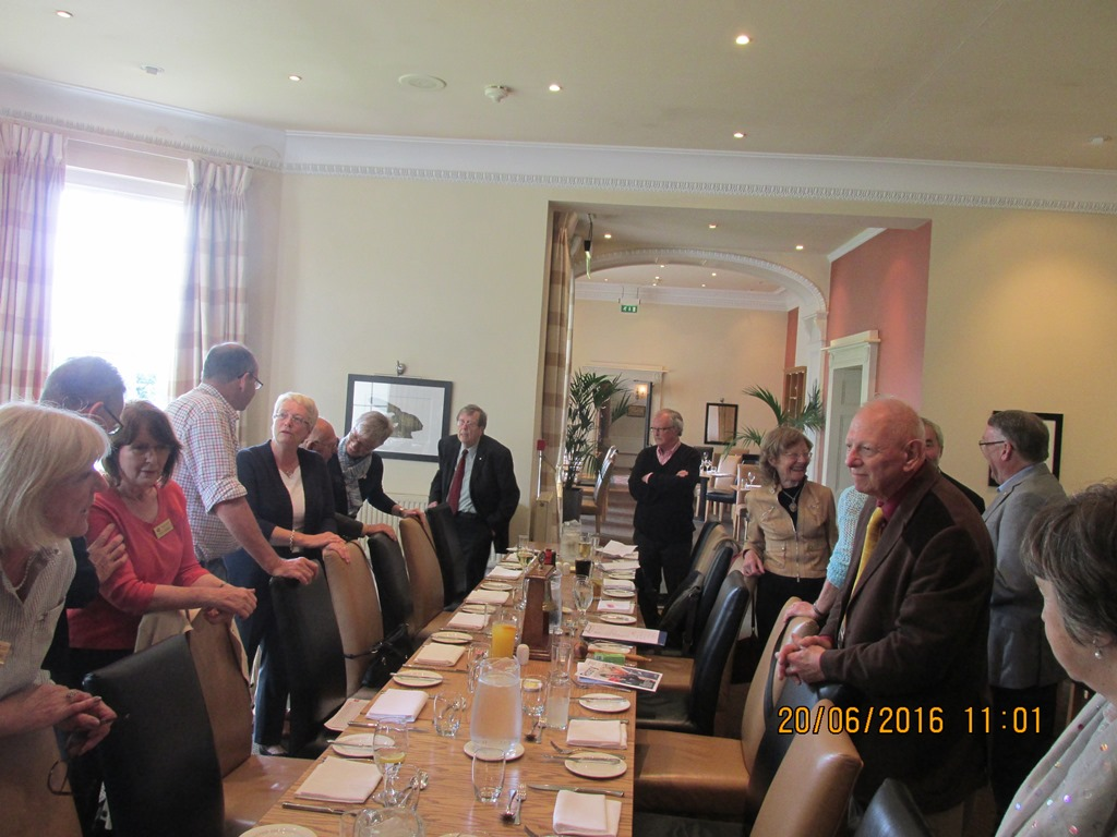 Visit from Odal Rotary Club, Norway - 33 Farewell lunch