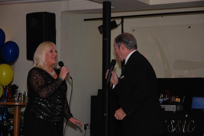 CHARTER DINNER 2015 - Entertainment was provided by two excellent singers, Ann Cookson and Peter Baldwin.