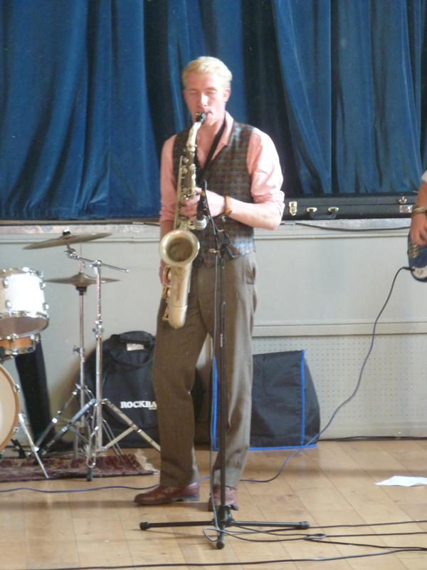 CHIPPY JAZZ AND MUSIC 2013 - with their leader Jack Gee.