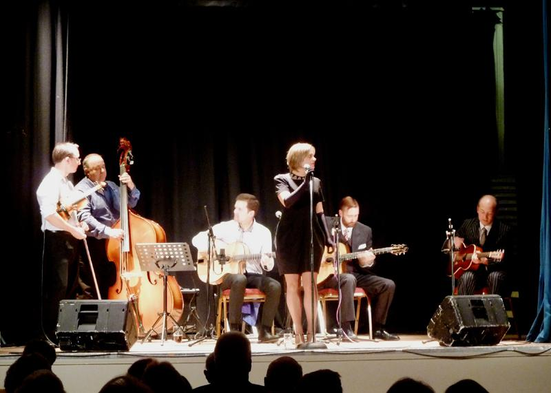 CHIPPY JAZZ AND MUSIC 2013 - were joined by vocalist Jo Silver for a great evening.