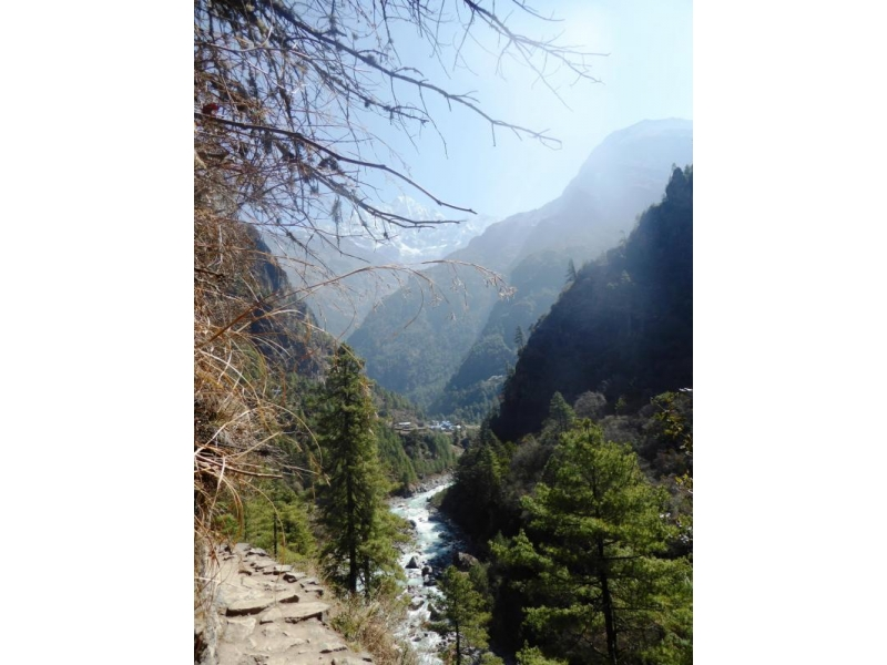 H2H - Hoddesdon to the Himalayas - Lukla to Monjo