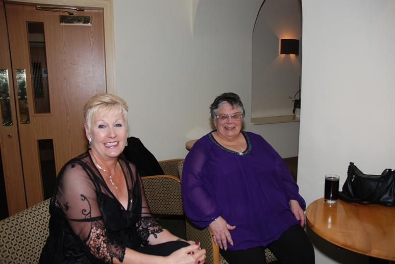 CHARTER DINNER 2015 - Diane and Gail from Blackpool Palatine Rotary Club.