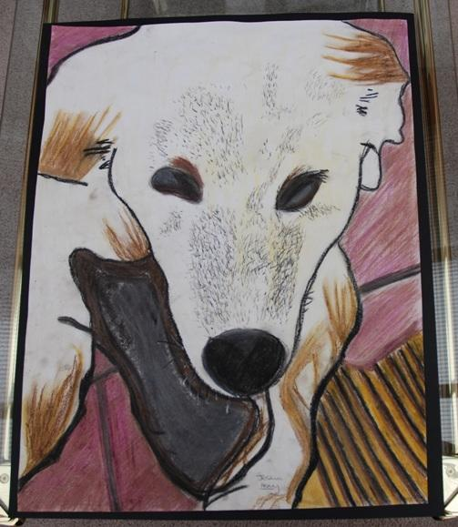ROTARY YOUNG ARTIST 2016 - 2017 - 'LIFE THROUGH A DOG'S EYES' by Joshua Henry.