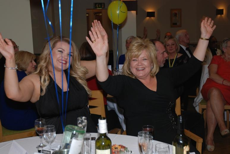 CHARTER DINNER 2015 - These girls know how to enjoy themselves.