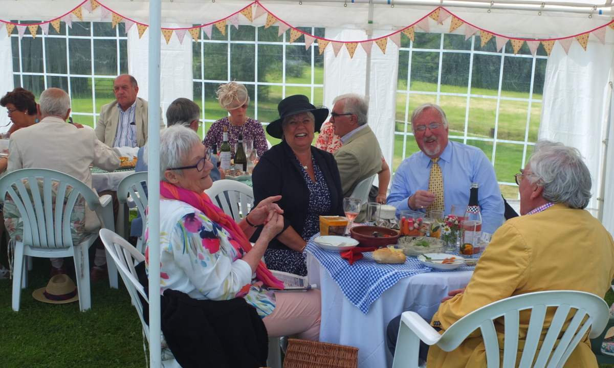 2015-16 Rotary Year - Ladies Day held held at Royal Yarnscombe. A good time had by all with useful funds raised by