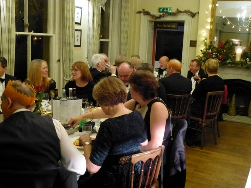 2016 Presidents' Evening Christmas Party at The Old Hall - 45