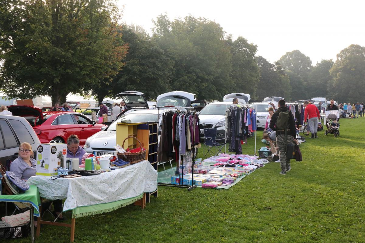 Car Boot Sale: August Bank Holiday 2017 -