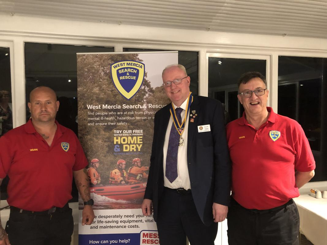 Guest Speakers from West Mercia Search & Rescue -