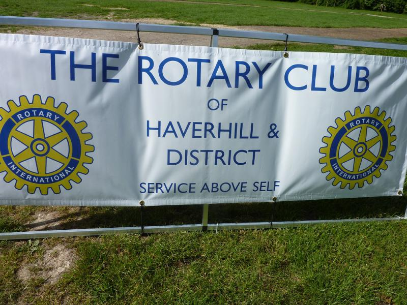 Jun 2013 Kids Out Day at Wimpole Hall and Farm - 3 Haverhill and District Club banner