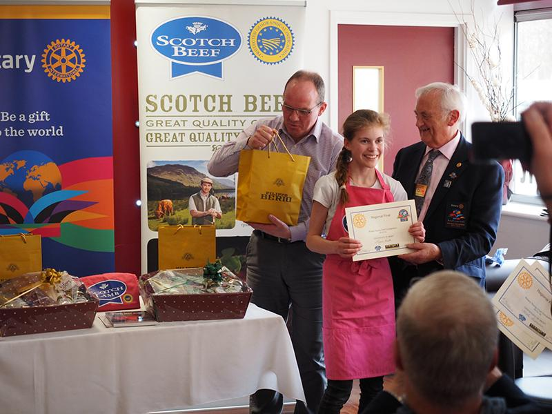 Rotary Young Chef - Regional Final -
