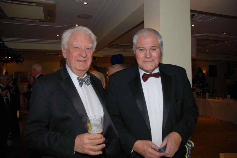 CHARTER DINNER 2015 - Eric and Jeff do a bit of posing.