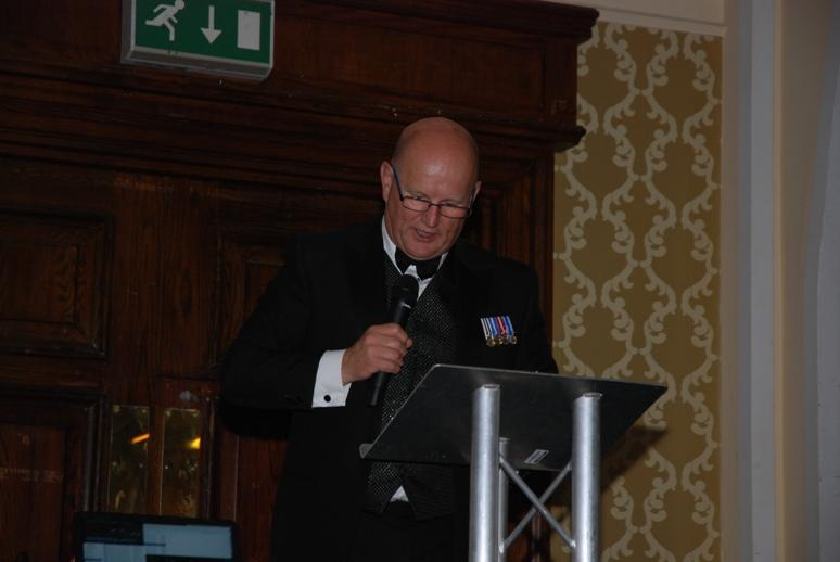 Gerry's Celebration Commemorative Dinner - Chief Constable Michael Barton QPM - Our Guest Speaker.