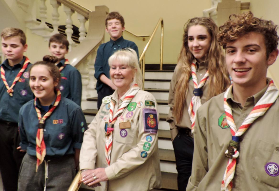 Our Club, our history and our Rotarians - The Chelsea Boy Scouts continue to support and help our Club as they have for several decades.