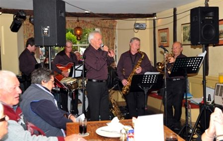 Chippy Jazz 2010 - The Dave Barry Jazz Band in the Blue Boar.