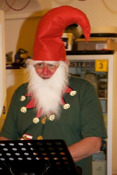 OUR CHRISTMAS PARTY - The Elf appears