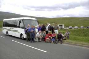2003 Charity Walk Yorkshire 3 Peaks - The bus home