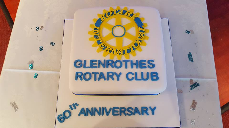The Rotary Club of Glenrothes -  60th Anniversary - 60th cake