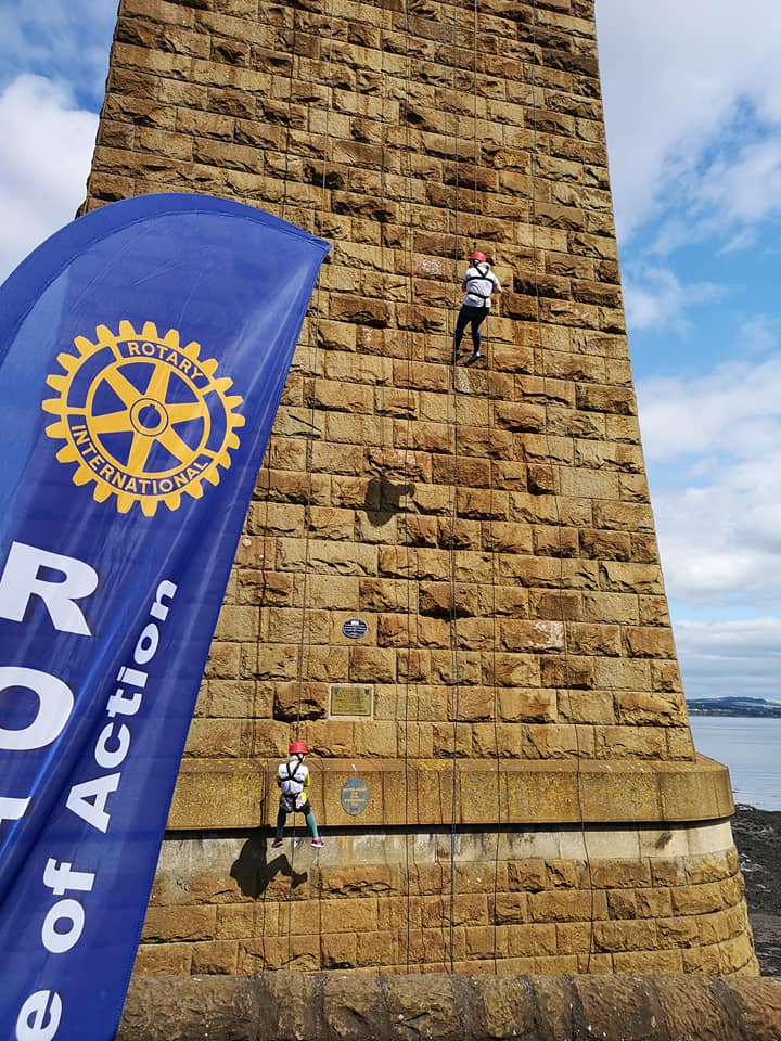 Forth Bridge Abseil reaches £1m - 65961971