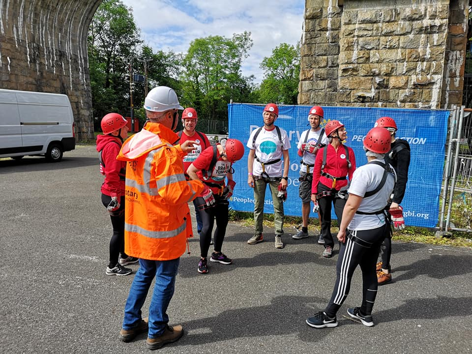 Forth Bridge Abseil reaches £1m - 66162702
