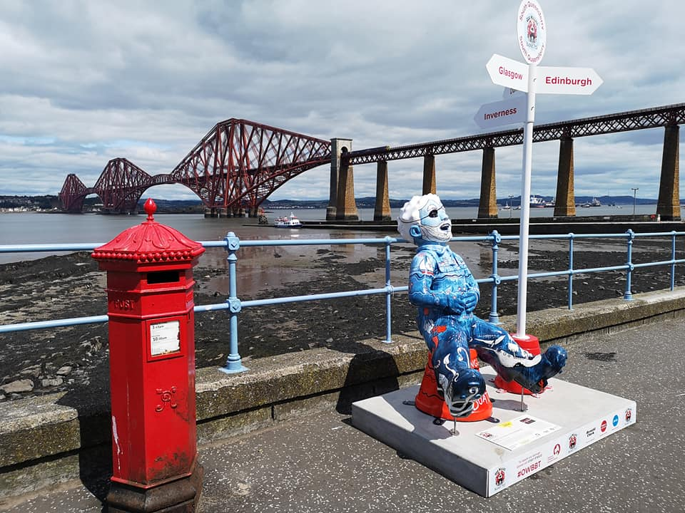 Forth Bridge Abseil reaches £1m - 66190750