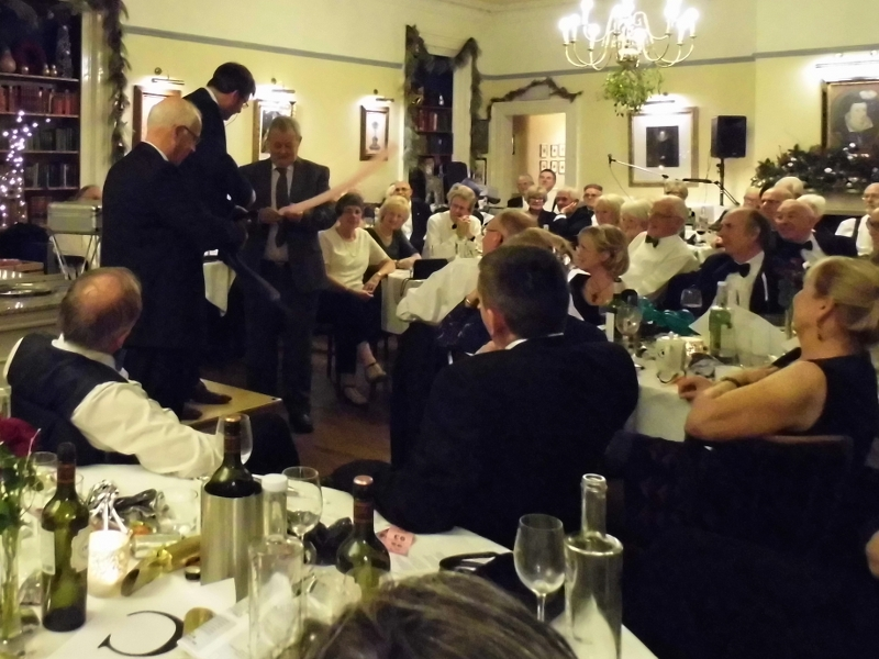2016 Presidents' Evening Christmas Party at The Old Hall - 69