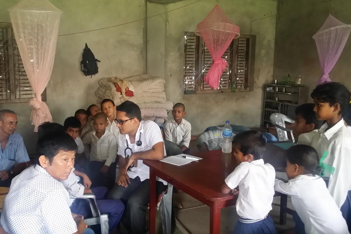 Preventing Iodine Deficiency Disease in Nepal - Screening of thyroid diseases and general health checkup of school children by a paediatrician at Basaha School