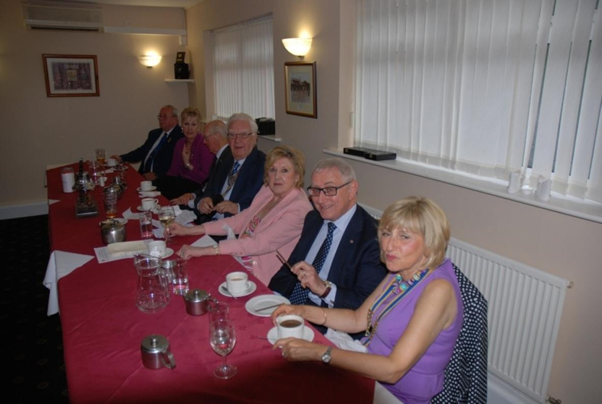 INDUCTION OF PRESIDENT ERIC HIND - 3RD JULY 2017 - The top Table