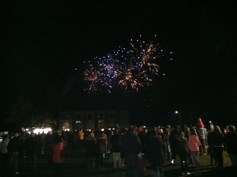 Thornhill Community Firework Display 2015 -