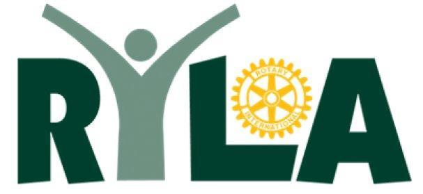 We helped with RYLA, Rotary Young Leader Awards -