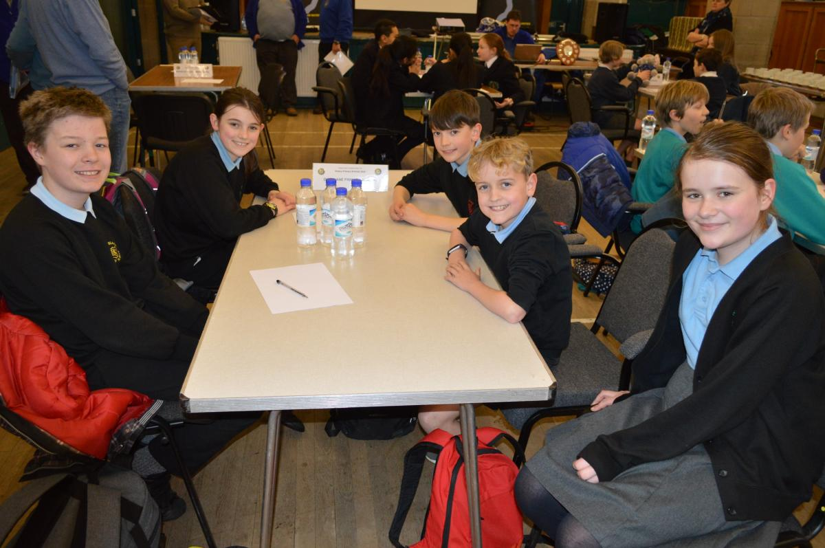 Primary School Quiz 8 March @Cathedral Hall Dunblane 15.30 - Dunblane team